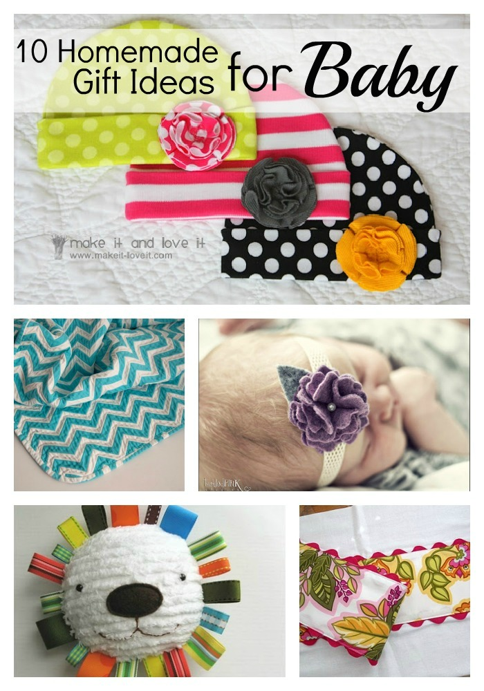 Baby Gift Ideas Homemade : Homemade baby gift ideas literally inspired